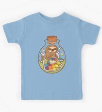 Sloth in a Bottle Kids Tee