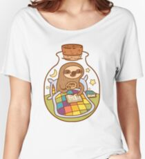 Sloth in a Bottle Women's Relaxed Fit T-Shirt