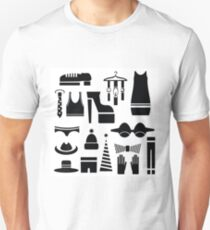silhouettes of clothes T-Shirt