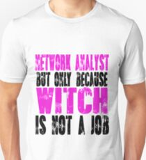 Network Analyst Witch Unisex T-Shirt