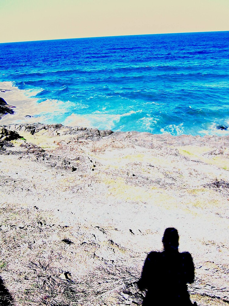 my shadow meets the sea by lauralock