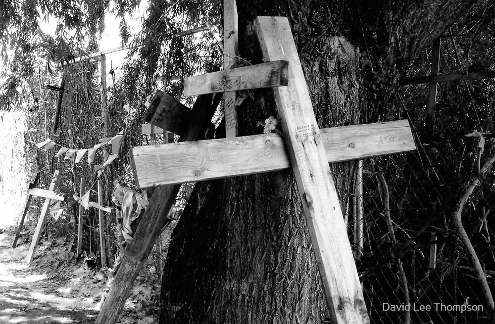 """Crosses at Chimayo"" by David Lee Thompson"