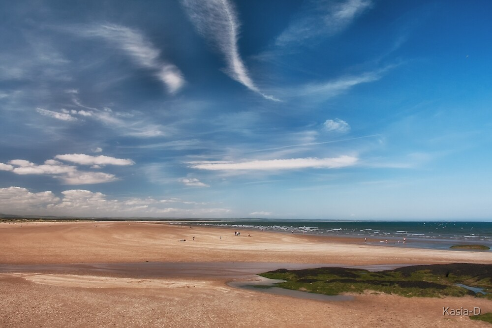 West Sands at St Andrews by Kasia-D