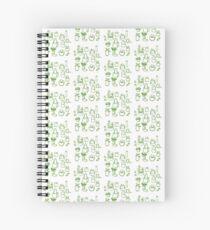 Assorted Plants  Spiral Notebook