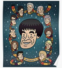 My Doctor is... The Second Doctor Poster