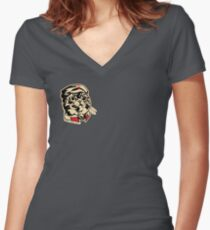 Private Nip - Classic Women's Fitted V-Neck T-Shirt