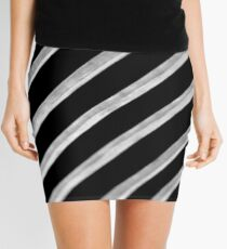 Contrast Slide Mini Skirt