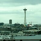 Seattle Spaceneedle  by Keeton Gale