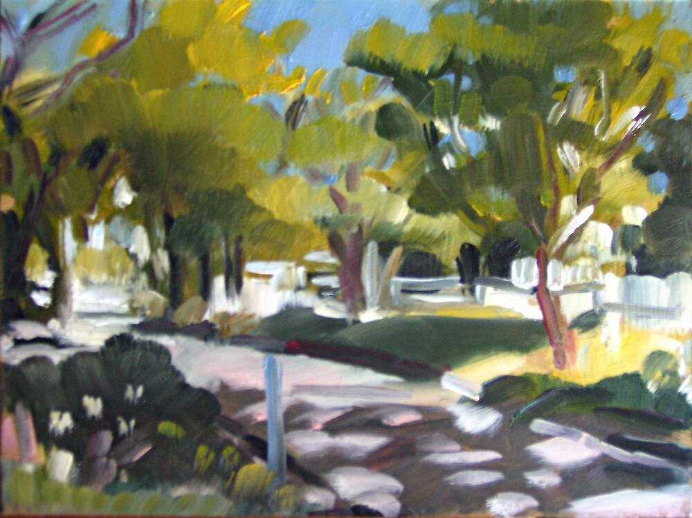 Brisbane Scene by Paul  Milburn