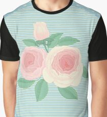 Retro roses Graphic T-Shirt