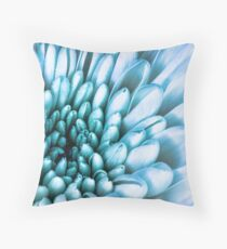 Interior Blue Throw Pillow