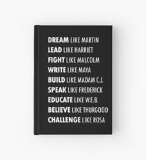 Influential Black History Leaders Hardcover Journal