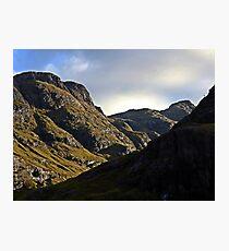 On Glencoe Photographic Print