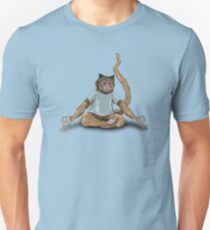 Yoga Monkey Unisex T-Shirt