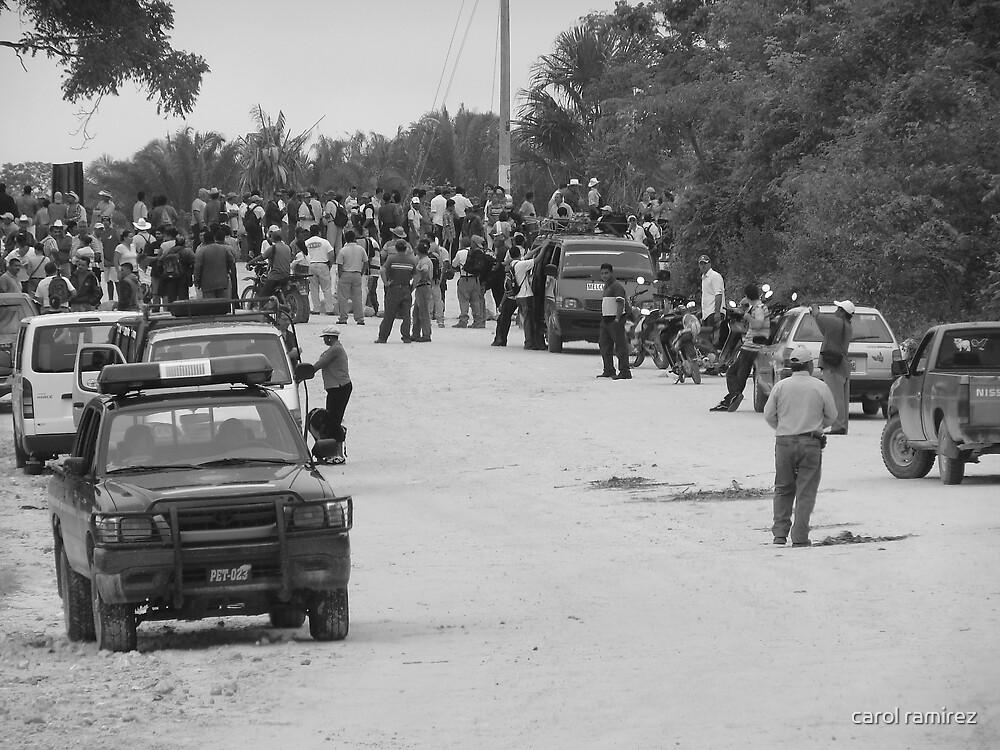 trouble on the border by carol ramirez