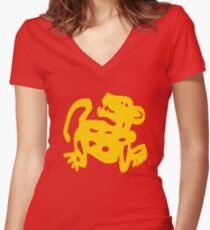 legends of the hidden temple women s fitted v neck t shirts redbubble