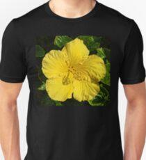 Yellow Hibiscus Blossom   Unisex T-Shirt