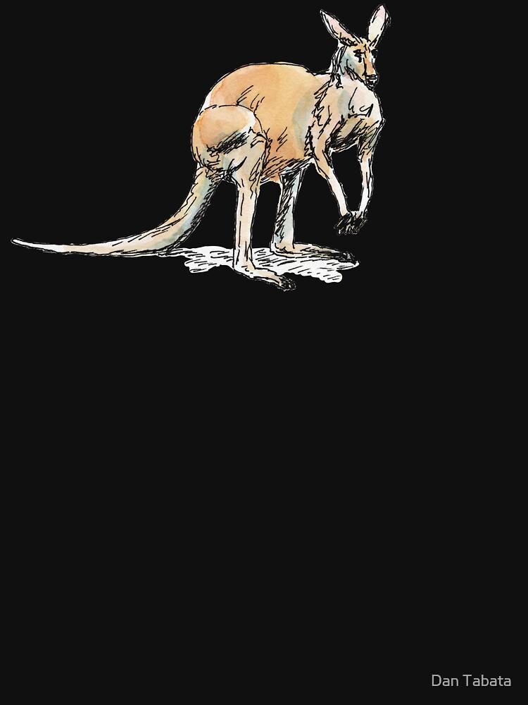 Kangaroo-in-waiting by dmtab