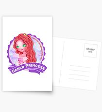 Gamer Princess Youtuber - Products Postcards