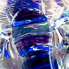 Glass Abstract in blue by Shulie1