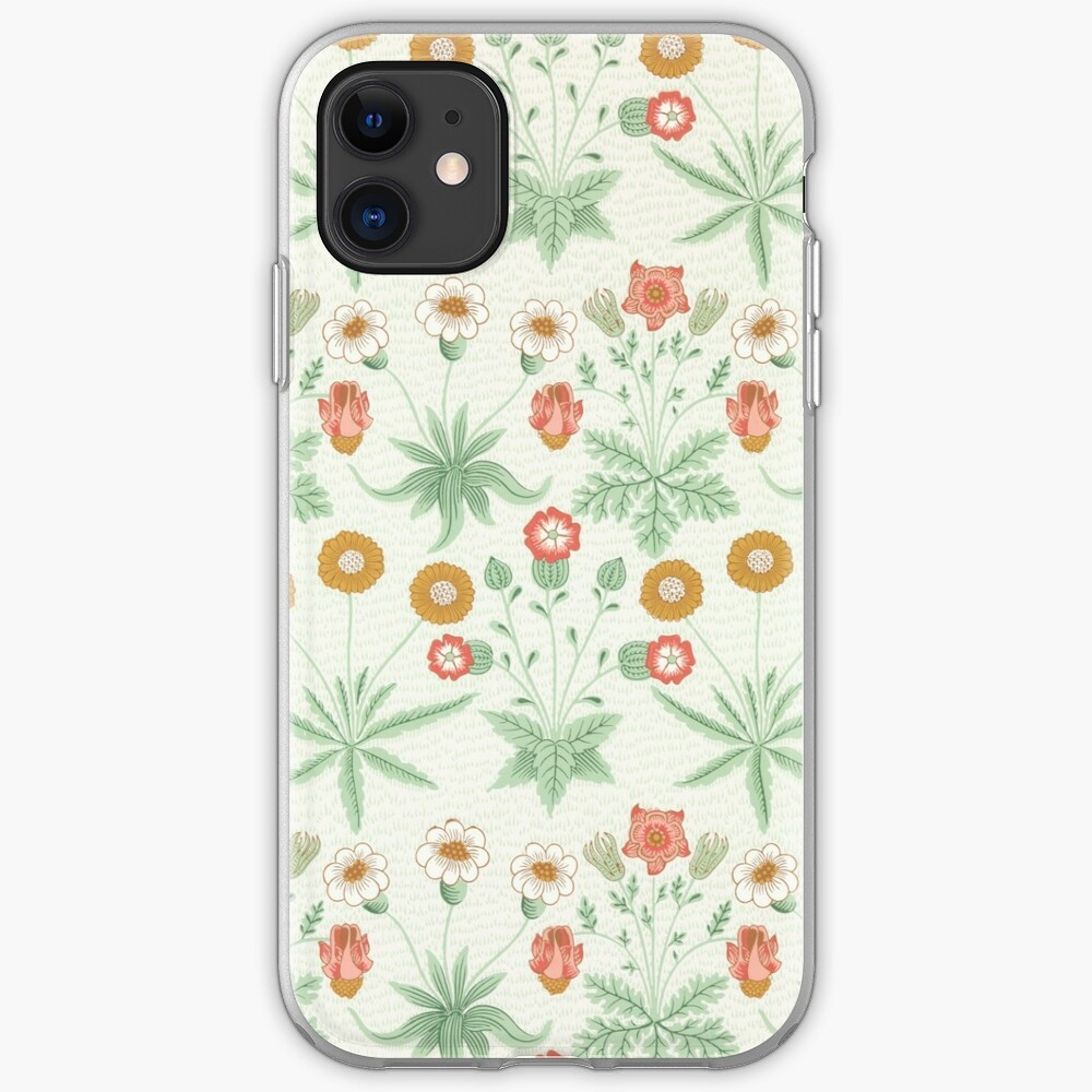 Daisy Pattern By William Morris 1864 Iphone Case Cover By