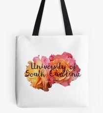 University of South Carolina Rose Tote Bag