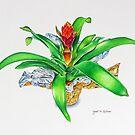 Bromeliad by joeyartist