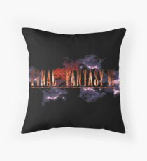 Final Fantasy 6 Title Throw Pillow