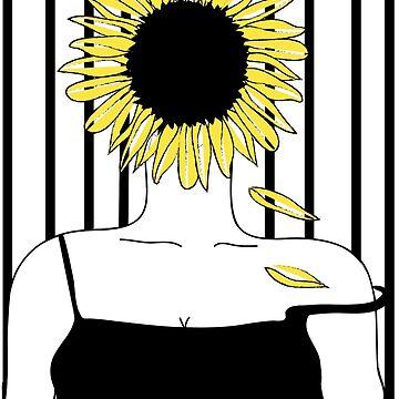 Sunflower Girl by DalyRincon