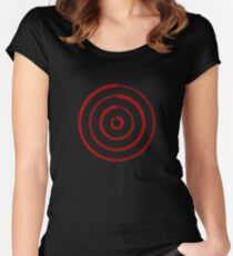 Mandala 27 Colour Me Red Women's Fitted Scoop T-Shirt