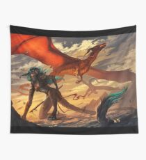 Fire and Blood Wall Tapestry