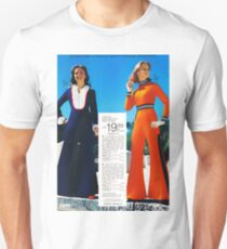 Retro Polyester Jumpsuits T-Shirt