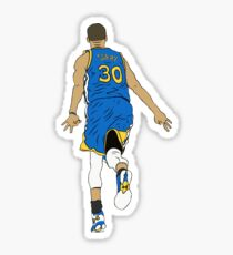 Stephen Curry Celebration  Sticker