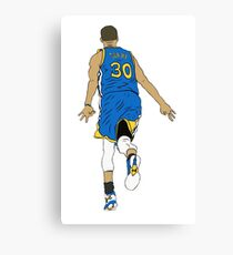 Stephen Curry Celebration  Canvas Print
