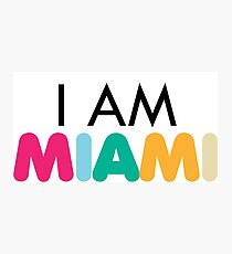 MIAMI Photographic Print