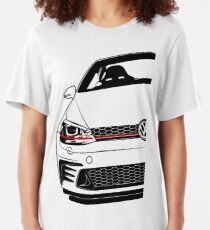 Golf Mk7 GTI ClubSport Best Shirt Design Slim Fit T-Shirt