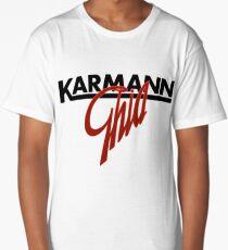Karmann Ghia BIG SCRIPT RED Long T-Shirt