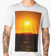 Sunset at Sea Men's Premium T-Shirt