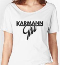 Karmann Ghia BIG SCRIPT BLK Women's Relaxed Fit T-Shirt