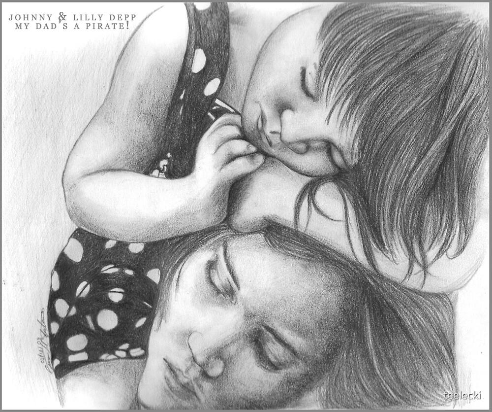 Johnny & Lilly Depp by teelecki