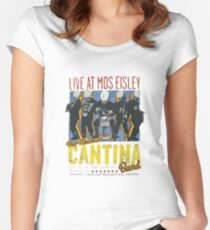Cantina Band On Tour Women's Fitted Scoop T-Shirt