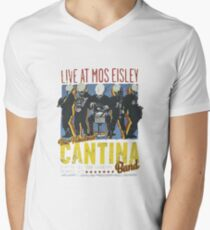 Cantina Band On Tour Men's V-Neck T-Shirt