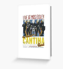 Cantina Band On Tour Greeting Card