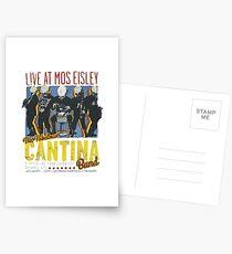Cantina Band On Tour Postcards