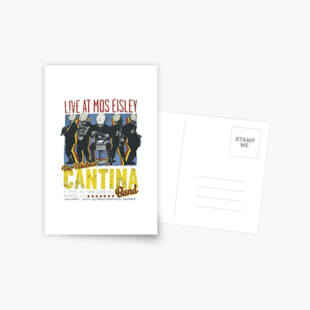 Cantina Band auf Tour Postkarte