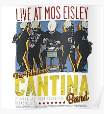 Cantina Band On Tour Poster