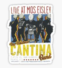 Cantina Band On Tour Sticker