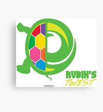 Rubik's Twist Canvas Print