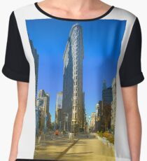 Flatiron Building Women's Chiffon Top