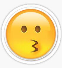 Emoji Kiss Wink Heart Blowing Kiss Emoji Sticker